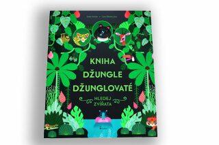 Kniha džungle džunglovaté - Hledej zvířata - Josef Antón