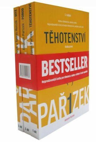 Kniha o těhotenství, porodu a dítěti 1.-3. díl - dárkový box (komplet) - Antonín Pařízek, Honzík Tomáš