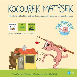 Kocourek Matýsek – s piktogramy - Vlasta Hurtíková