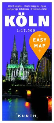 Köln - Easy Map 1:17 500 - neuveden