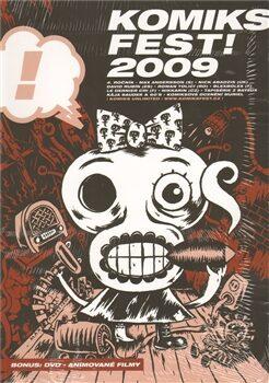 KomiksFest! 2009 - oficiální katalog + DVD -