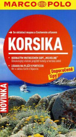 Korsika/cestovní průvodce s mapou   MD - neuveden
