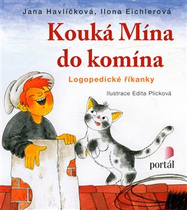 Kouká Mína do komína - Logopedické říkanky - Havlíčková Jana, Eichlerová Ilona,