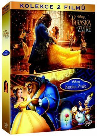 Kráska a zvíře kolekce 2DVD - DVD