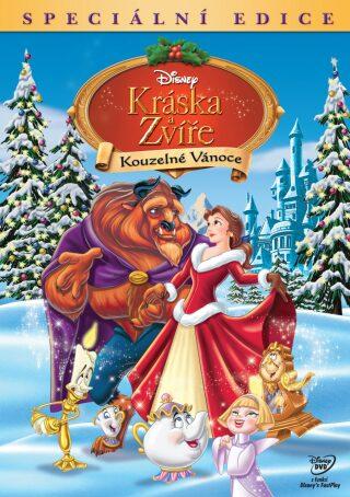 Kráska a zvíře: Kouzelné Vánoce - DVD