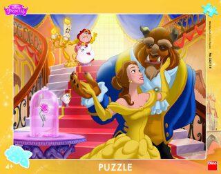 Kráska a zvíře: puzzle 40 deskové - Walt Disney