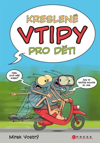 Kreslené vtipy pro děti - Mirek Vostrý
