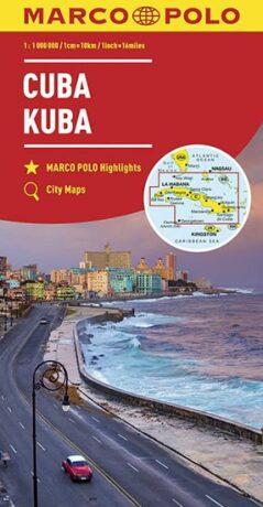 Kuba - Cuba / City maps 1:1mil. - neuveden