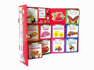 Kufřík plný knížek - Veselé obrázkové čtení pro zvídavé děti - 10 leporel - 2. vydání - neuveden