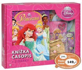 Kufřík Princezna, časopis, 2 dárky -