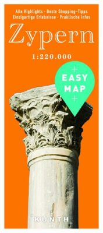 Kypr - Easy Map 1:220 000 - neuveden