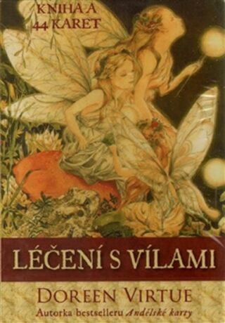 Léčení s vílami - kniha a 44 karet - Doreen Virtue