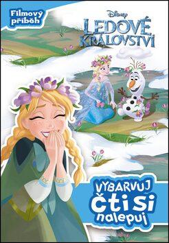 Ledové království Vybarvuj, čti si, nalepuj - Disney