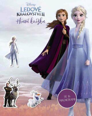 Ledové království II - Hravá knížka se 16 magnetkami - Disney Pixar