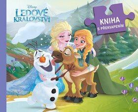 Ledové království Kniha s překvapením