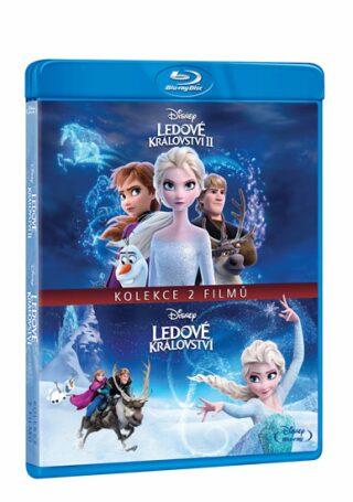 Ledové království kolekce 1 + 2 - Blu-ray