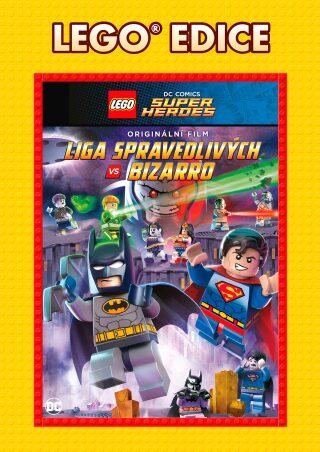Lego: DC - Liga spravedlivých vs. Bizarro - Edice Lego filmy - DVD