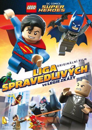 Lego: Liga spravedlivých vs Legie zkázy DVD