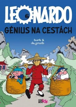 Leonardo 6 - Génius na cestách - Bob de Groot
