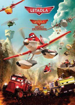 Letadla 1 a 2 - Hasiči a záchranáři - Walt Disney