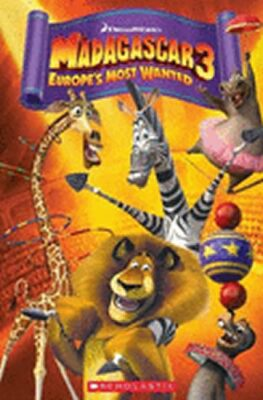 Popcorn ELT Readers 3: Madagascar 3 - Europe´s Most Wanted with CD - neuveden