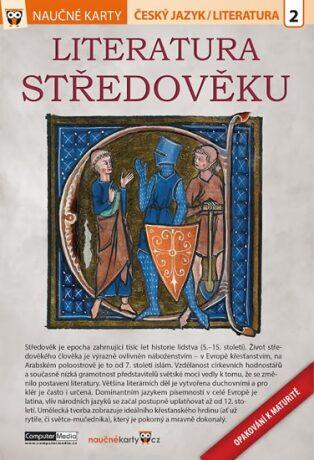 Literatura středověku - Naučné karty - neuveden