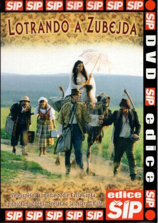 Lotrando a Zubejda - DVD pošeta - neuveden