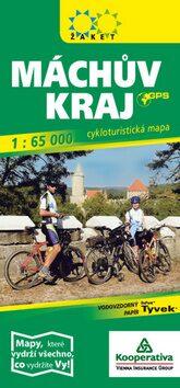 Máchův kraj-cykloturistická mapa -
