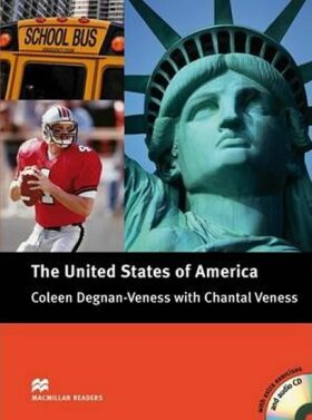 Macmillan Readers Pre-Intermediate: The United States Book with CD - Coleen Degnan-Veness, Chantal Veness