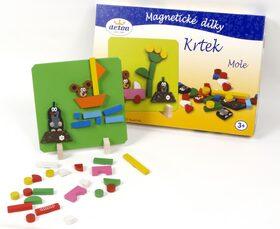 Magnetické dílky Krtek -