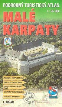 Podrobný turistický atlas Malé Karpaty -