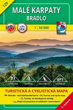 Malé Karpaty Bradlo 1 : 50 000 -