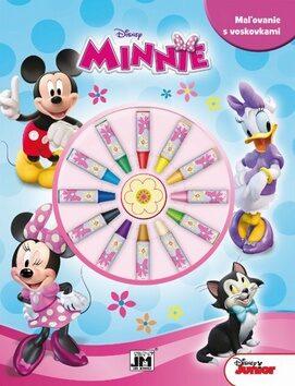 Maľovanie s voskovkami Minnie -