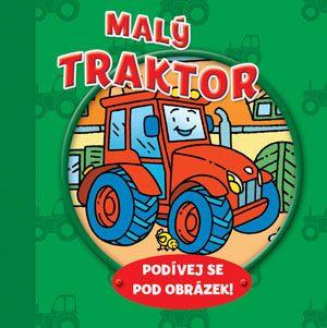 Malý traktor – podívej se pod obrázek! - neuveden