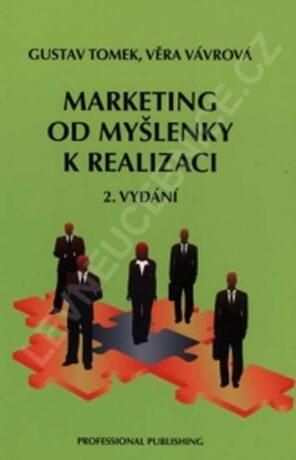 Marketing od myšlenky k realizaci, 2. vydání - Gustav Tomek