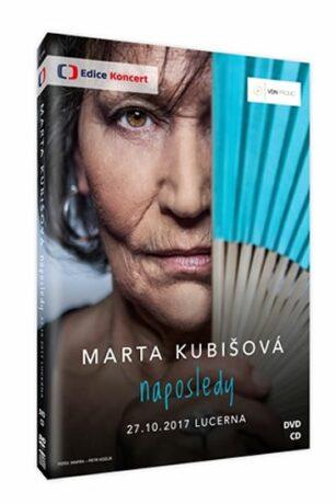 Marta Kubišová Naposledy - DVD + CD - Marta Kubišová - audiokniha