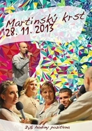 "Martinský krst 27.11.2014 - DVD - Pavel ""Hirax"" Baričák"