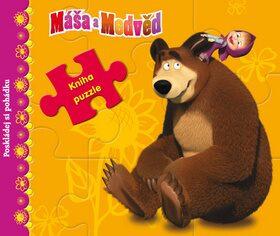 Máša a medvěd - Kniha s puzzle - Poskládej si pohádku - Walt Disney