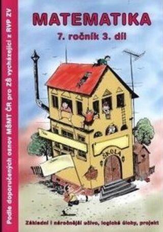 Matematika 7.ročník / 3.díl Pracovní sešit TV Graphics - Slavomír Kočí