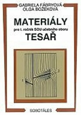 Materiály - pro I. roč. SOU učebního oboru tesař - Fábryová G., Božeková O.