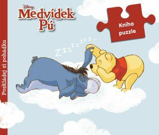 Medvídek Pú Kniha puzzle - Walt Disney