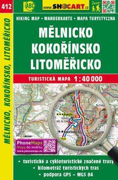 Mělnicko, Kokořínsko, Litoměřicko 1:40 000 - neuveden