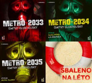 Metro trilogie - komplet - Dmitry Glukhovsky