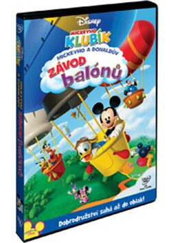 Mickeyho klubík: Mickeyho a Donaldův závod balónů DVD - neuveden
