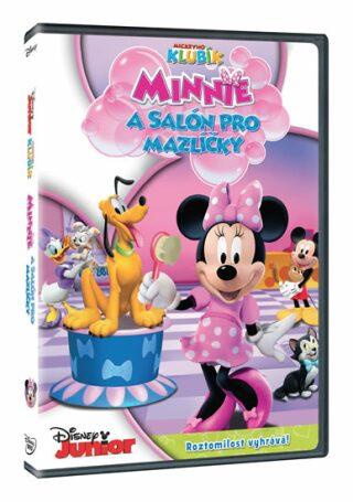 Mickeyho klubík: Minnie a Salón pro mazlíčky - DVD