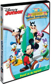 Disney Junior: Mickeyho velká koupačka DVD - neuveden