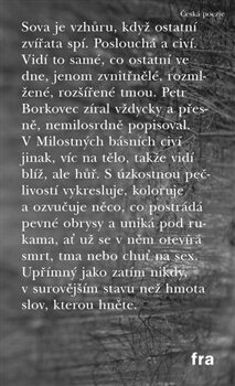 Milostné básně - Petr Borkovec