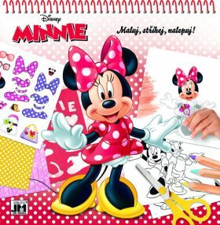 Maluj, stříhej, nalepuj! Minnie - neuveden