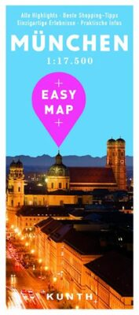 Mnichov - Easy Map 1:17 500 - neuveden