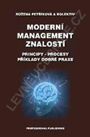 Moderní management znalostí-Principy-pro - Petříková Růžena
